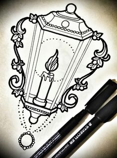 Neo traditional lantern …