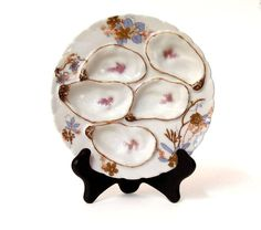 Mid 19th C. Haviland Limoges Oyster Plate