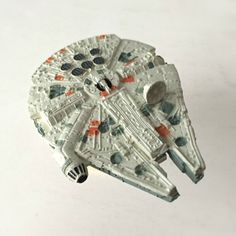 "The actual Millennium Falcon is far too large to fit in a stocking. But this 3"" miniature version isn't! The perfect Christmas gift for Star Wars lovers across the galaxy."