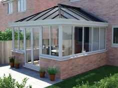 Ultraframe LivinRoof solid conservatory roof replacement