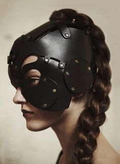 The Cyclops Apprentice Leather Mask