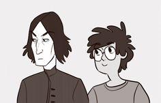 Harry Potter Anime, Harry Potter Severus Snape, Harry Potter Ships, Harry Potter Fan Art, Harry Potter Movies, Slytherin, Hogwarts, Just Magic, Tumblr