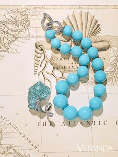 Large-scale Turquoise and Chopard
