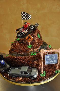 dirt bike cake - Google Search