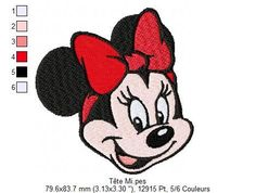machine embroidery designs how to make Disney Patches, Horse Quilt, Brother Embroidery, Hand Embroidery, Minnie Mouse, Freebies, Free Machine Embroidery Designs, Picture Design, Quilting Designs