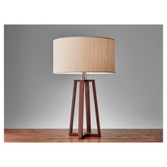 Adesso Quinn Table Lamp - Brown