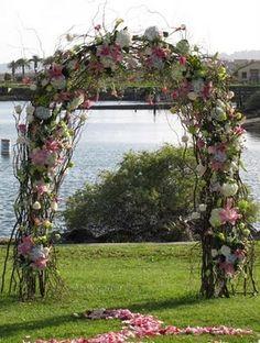 Uitgelezene 23 beste afbeeldingen van Trouwbogen - Bruiloft, Boog bruiloft en WM-14