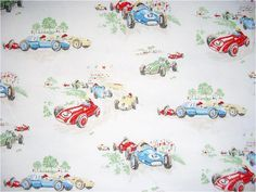 Image result for girls racing car fabric