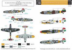 'Friedrich' in Magyar Királyi Honvéd Légierő - ResinGuys Defence Force, Luftwaffe, Military History, World War Ii, Wwii, Camouflage, Aircraft, German, Wings