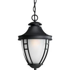Progress Lighting - Fairview Collection Textured Black 1-light Hanging Lantern - 785247146642 - Home Depot Canada