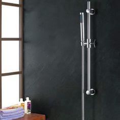 neu.haus] Colonna doccia di design Doccia a parete con un soffione Doccia Shower Set 32,90 € Door Handles, Home Decor, Decor, Doors