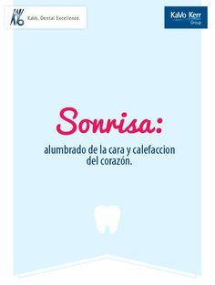 #Sonrisa Alumbrado de la cara y calefacción del #corazón