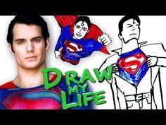 DRAW MY LIFE - Superman Man of Steel - YouTube
