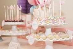 Sprinkle Party ~ Icing Designs