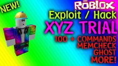 ROBLOX Exploit/Hack - XYZ TRIAL (NEW) (100+ CMDS) MEMCHECK, GHOST & MORE