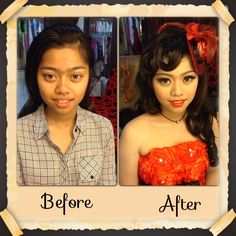 Make up for fashion show