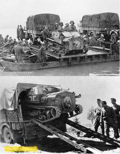 Ansaldó szállítása,valamint folyami átkelés az utászokkal. Luftwaffe, Afrika Korps, Ww2 Photos, Defence Force, Panzer, Dieselpunk, Armed Forces, World War Two, Military Vehicles