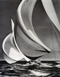 Racing downwind from the Rosenfeld Collection