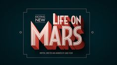 Short futuristic retro newsreel about colonization of Mars.