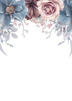 Framed Wallpaper, Flower Background Wallpaper, Flower Backgrounds, Wallpaper Backgrounds, Iphone Wallpaper, Phone Backgrounds, Fond Design, Floral Save The Dates, Invitation Background