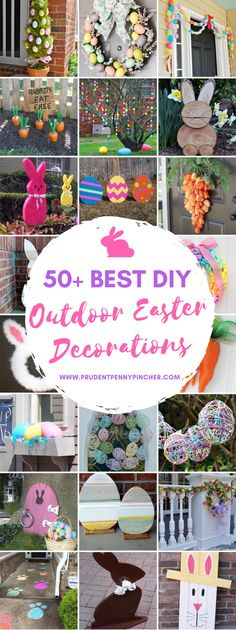 50 Best DIY Outdoor Easter Decorations - outdoor easter decorations outdoor easter decorations outdoor easter decorations Welcome to our web - Easter Crafts, Holiday Crafts, Easter Egg Hunt Ideas, Summer Crafts, Diy Osterschmuck, Diy Easter Decorations, Outdoor Decorations, Diy Ostern, Easter Holidays