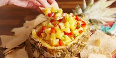 The 39 Most Delish Salsas - Jonathan Boulton Great Recipes, Snack Recipes, Cooking Recipes, Favorite Recipes, Savory Snacks, Dip Recipes, Summer Recipes, Vegan Recipes, Dinner Recipes