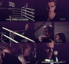 :) I remember being completely nervous and excited about this scene. The Vampire Diaries Season 3 - Stefan and Elena