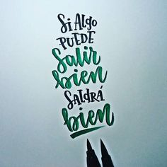 ¿No? #lettering #calligraphy #caligrafía #brushpen #tombow #handmade #handwriting