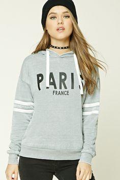 Paris France Graphic Hoodie