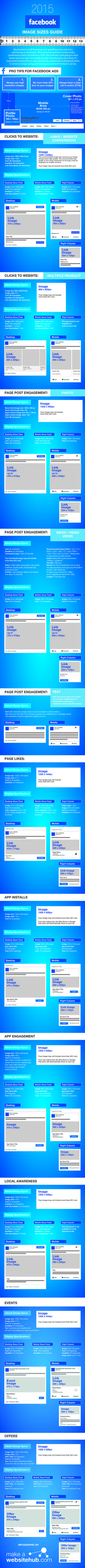 Facebook Images Sizes 2015