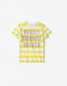 """FRESH BREEZE"" STRIPED T-SHIRT"