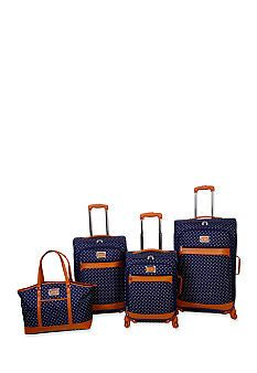 travelers polo racquet club transcend 3piece superlite spinner luggage set lavender one size for more information visit image link
