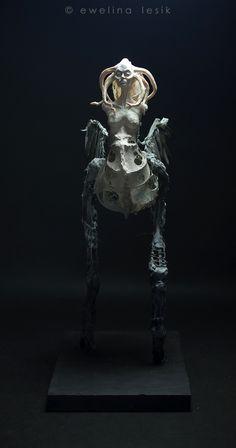 Medusa by Ewelina Lesik (Sculpture, 66cm, 2014) see more - http://www.facebook.com/EwelinaLesikArt