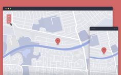 Custom Google Map | UI Design Elements Inspiration