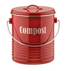 Typhoon Compost Caddy, 2.6-Quart Capacity