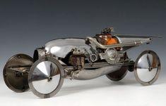 james corbett car parts sculpture
