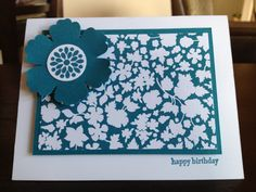 Love, love, love Stampin' Up!'s mixed bunch stamp set and coordinating punch!