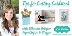 Cutting Cardstock with Silhouette CAMEO: Secrets and Cut Settings from the Pros!   Silhouette School   Bloglovin'