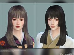My Sims, Sims Cc, The Sims 4 Skin, Sims Stories, Sims 4 Anime, The Sims 4 Cabelos, Pelo Sims, All Hairstyles, Female Hairstyles