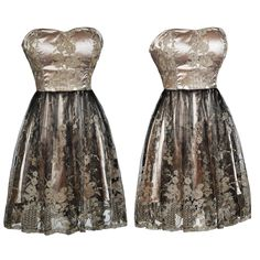 This black and gold dress is dark and romantic! http://ss1.us/a/zRbCDmtz