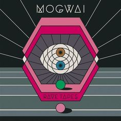 Next week, Scottish post-rock titans Mogwai give us their monstrous new album Rave Tapes. It's their eighth studio album, but it's their first since they did Cool Album Covers, Album Cover Design, Music Covers, Instrumental, Lp Vinyl, Vinyl Records, Tapas, Indie, Wall Of Sound