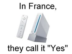 Wii - this made me laugh out loud.