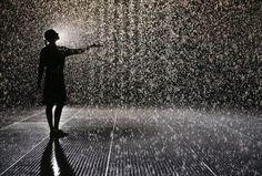 rAndom International - Rain Room #art #arte #randominternational #rainroom