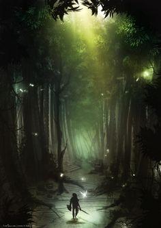Legend of Zelda - Une illustration époustouflante de Ilias Patlis
