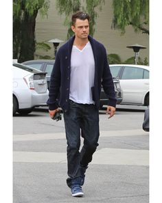 Josh Duhamel in Los Angeles Best Dont-Give-a-Shit Hair of the Week: Josh Duhamel, who just rolled out of bed and slicked his mane back with water.