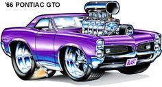 Cool Muscle Cartoon Cars | Cartoon Cars