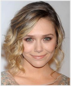 Click here to try on this Elizabeth Olsen hairstyle