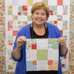 9 Patch Swap Tutorial from Missouri Star Quilt Company