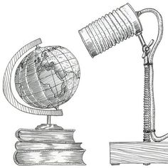 marker illustration jari miranda trash design