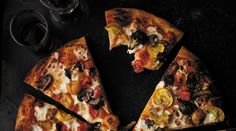 "Roasted Vegetable Pizza via PureWow | Recipe adapted from ""Homemade with Love"" by Jennifer Perillo (Running Press)"